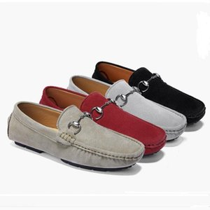 sslouboutinCL2020 New Musk deer leather shoes,men s leather casual shoes,fashion trend soft bottom casual wedding shoes,mens