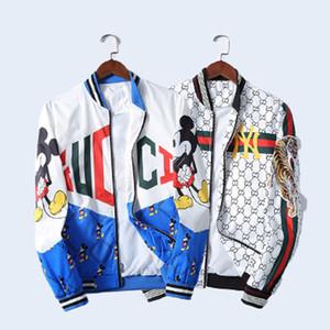2020 de Moda de Nova Europa mens designers de Casacos letra luxo roupas de impressão camisas encapuçados das mulheres de manga longa Homens Mulheres jaqueta