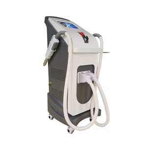 New efficient laser hair removal opt SHR + Nd YAG laser + Light + RF Beauty laser equipment IPL SHR hair removal machine transport free DHL