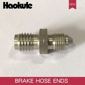 HAOKULE AN3 3 8x24 UNF to M10x1.25   M10x1.5   M10x1.0 Male Bubble Flare Stainless Steel Brake Fittings INVERTED FLARE Adapter tnMV#