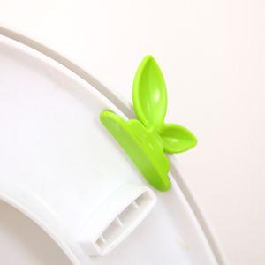 Dispositif de couvercle EJxWd WC adhésif dispositif de levage de couvercle de papier adhésif de papier autocollants de selles de levage domestique à main anti-saleté découvrant toilette