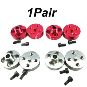 1Pair JMRRC CNC Aluminum Paddle Clamp Compatible with 3mm 3.17mm 4mm M8 Shaft Quick Release Propeller Seat Clip for RC Aircraft