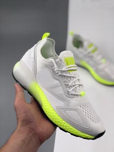 ZX 2K Stiefel Schuhe Sneakers Weiß FRAUEN- Schuhe Technischer Laufschuh 2020 Training Turnschuhe besten Sport für Männer Frauen yakuda beliebt