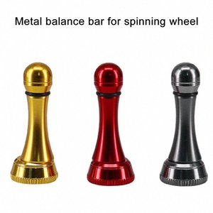 Metall-Bar Spinnrolle Balancer Fisch Rotary Reel Crank Ersatzangelzubehör Gomexus Angelständer G6ne #