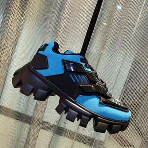 2020 وصول رجل Cloudbust الرعد حك أحذية فاخر مصمم كبير جدا حذاء رياضة ضوء المطاط وحيد 3D المدربين الأحذية النسائية