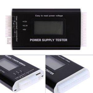Dijital LCD PC Bilgisayar PC Güç Kaynağı Tester 20/24 Pin 4 PSU SATA HDD ATX BTX ITX SATA HD Güç Kaynağı Tester