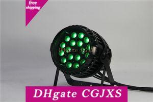 8 Stück Außen Zoom Led Par 64 RGBWA Uv Par Can Beam Licht Wasserdichtes 18x18w Zoom LED-Reflektorlampe