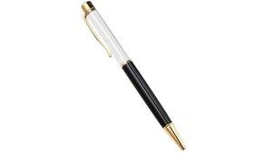 226 dhl فارغة بلينغ بلينغ 2 في 1 سليم الكريستال الماس حبر جافت أقلام بريق ستايلس لمس القلم diy الأقلام 13 اللون 110 قطع