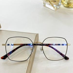 شكل موضوع-2020 الجديدة الأزياء البريطانية BE98290 أنثى خفيفة الوزن Bigrim النظارات الإطار انقر نقرا مزدوجا تصفيح fullrim سليم المعدنية لحالة fullrim RX