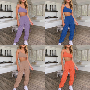 Women Two Piece Outfits Comfort And Breathability Yoga Bodysuit Piece Woman Set Long Sleeve Suit For Leisure Sports Yoga#765