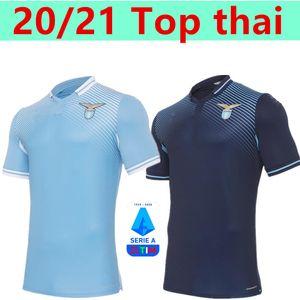 20 21 Lazio Socker Jersey 2020 2021 Футболка Lazio Lazio Luis Alberto CamiSeta de Fútbol Dimbile Sergeja Maillot de oper