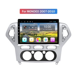 New 2 Din 10 Inch Capacitive Touch Screen Autoradio Multimedia Bluetooth GPS Car Radio For Ford MONDEO 2007 2008 2009 2010