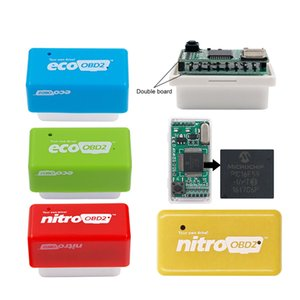 Nitroobd2 PIC16F59 high quality 2 Layer PCB ECOOBD2 Chip NITROOBD2 Tuning Box ECO OBD2 Nitro OBD2 Original Plug Gasoline Diesel More Power