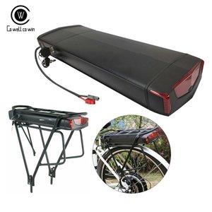 Rear cremalheira 48V 14AH Samsung 35E 18650 Ebike bateria de iões de lítio 1000W elétrica da bicicleta bloco