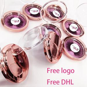 Free Put Logo 30 Pairs Wholesale 18Style Eyelashes Transparent Band False Eyelash Crisscross 3D Mink Lashes Handmade Eye Lashes
