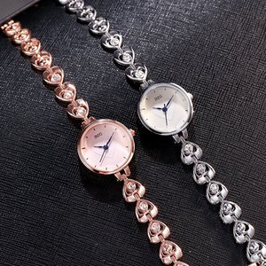 2020 new women's bracelet Diamond ring love Diamond cute student Women's Watch simple fashion bracelet watch