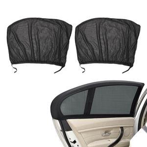 LEEPEE 2Pcs крышки сетки Auto Side заднего стекла козырек от солнца окна автомобиля крышки Автоаксессуары Защита от ультрафиолетовых лучей щит Зонт занавес