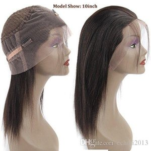 360 lace frontal wig pre plucked natural hairline silky straight 130%density high ponytail cheap lace front wig