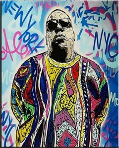 Alec Monopoly Graffiti art Decor Notorious BIG Home Decor Handcrafts  HD Print Oil Painting On Canvas Wall Art Canvas Pictures 1206