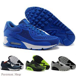 2019 New Air Cushion 90 KPU Men Women Sport Shoes High Quality Classical Sneakers Cheap air90 Be True Sports Running Trainers Tn Shoe