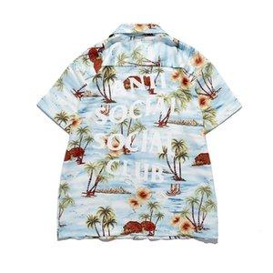 Para hombre de las mujeres el diseñador de moda de las camisetas del Mejor assc camisa de manga corta camisas de Hawaii 2020