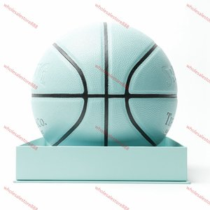 The highest quality European Cup basketball 2020 size 54.5CM Spalding joint basketball global limited edition hococal high-quality ball