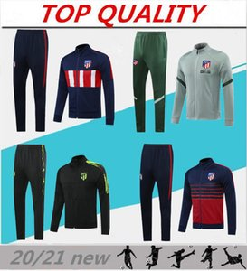 2019 2020 JOÃO FÉLIX Atletico tuta da allenamento giacca da calcio 2019/20 camiseta de fútbol LLORENTE giacca da calcio tuta lunga con cerniera JOAO FELIX