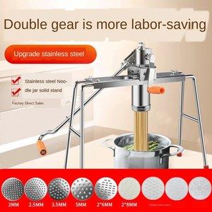 la poudre à pâte manuelle ménage Noodle Bar presse Enfoncement machine de presse de nouilles Heluo acier inoxydable cuisson Machine