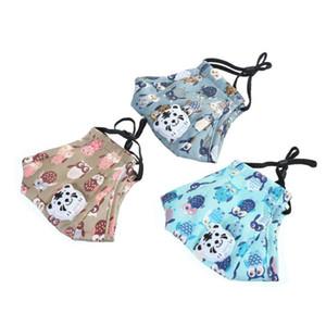 Kids Fashion Viso rivestimento protettivo Air Mask confortevole Proof Leggero Facile traspirabilità polvere riutilizzabile lavabile Maschere