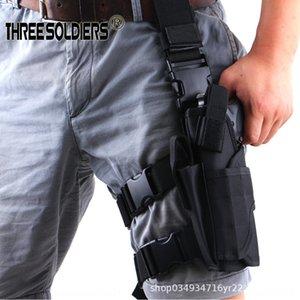 Outdoor tornado quick tactics Tight pants tight pants left leg tactics running bag field leggings quick leg bag