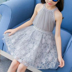 2019 Baby Flower Girl Dresses Princess Lace Wedding Party Pageant Formal Dress Kids Prom Homecoming Tulle Dresses 2-10Y T200709