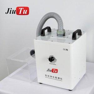 Volver cristal láser Extractor con caja clara Extractor Absorbente de Humo herramienta de soldadura Jiutu pequeño volumen 110V / 220V