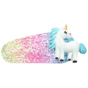 2016 Unicorn Party Christmas Party Supplies 5Pc Cartoon Unicorn Hairpin Birthday Party Decorations Kids Unicornio Hair Accessories S ZNiKP