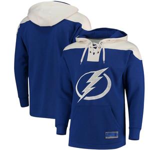 Стивен Stancos Tampa Bay светло-синее имя и номер прыгуна хоккея Джерси подгонять любое имя и цифры