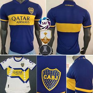 Версия для игрока 20 21 Boca Juniors maillots де нога футбола Джерси Salvio Тевес DE ROSSI 2020 2020 дом прочь футбола рубашки игрока