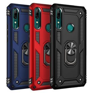 Magnetic Armor Ring Case For Huawei P30 P40 Pro P20 Lite Mate 30 P Smart Z Y9 Prime 2019 Honor Cover