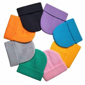 Unisex Knitted Hats Wool Beanie Skullcap Cap Men Women Fashion Hip Hop Hats Outdoors Sportswear Vintage Women Knit Hats 2020 26 Color