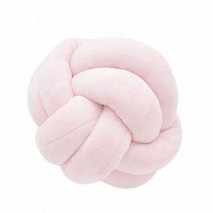 Knot Ballkissen® Büro Taille Rückenkissen Baby-Nap Kissen Kuschelpuppen Spielzeug für Kids Store Dekoration Knotenkugel nqhQ #