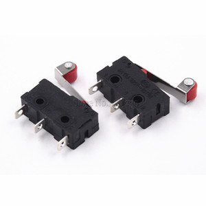 100PCS Mini Micro Switch 3Pin With Roller Limit Switch