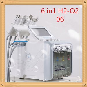 CE6 in 1 Hydrafacial Dermabrasion Machine Water Oxygen Jet Peel Hydra Skin Scrubber Facial Beauty Deep Cleansing RF Face Lifting Cold Hammer