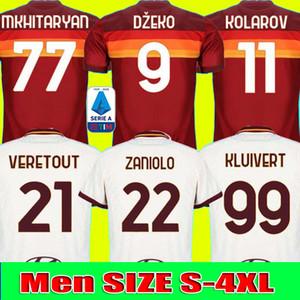 BOYUT S-4XL 20 21 ROMA ev Dışarıda futbol forması 2020 2021 AS PASTORE Dzeko Zaniolo EL Shaarawy ROMA formalarını