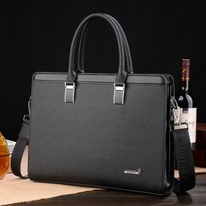 Kuqi kangaroo New Cross Hand computer Hand bag men's computer handbag business briefcase online shop