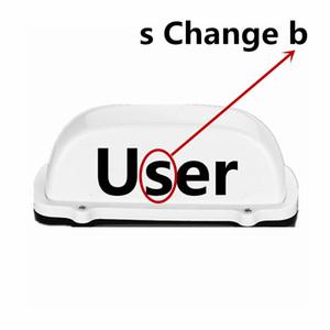 Новый автомобиль свет купола свет пользователя LED водонепроницаемый верхний свет 12V с магнитом основанием для Uber драйвера пользователя