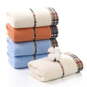 Модные Soft Face Полотенца Lattice Дизайнер Полотенце волос впитывать пот Полотенца хлопковых полотенец Подарков высокого качества полотенце подарок Оптового