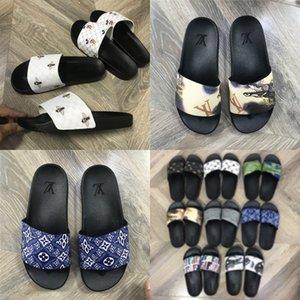 Трусы Женщины госпредприятий сандалии лето 2020 Flat госпредприятий PU Литер Гладиатор Soe Женщины Deners Zapatos De Mujer # 756 # 611 # 721