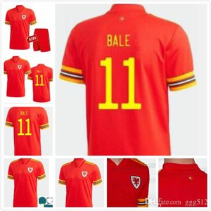 MAN+KIDS KIT 2020 Wales soccer jersey cup 20 21 BALE ALLEN James Ben Davies Wilson camisetas team home RED maillot jerseys football shirts