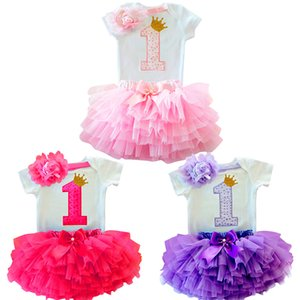Toddler Girl Dress 1 Year Girl Baby Birthday Dress Kids Christening Infant Baby Princess Party Dresses Newborn Clothing