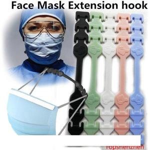 Third Gear Adjustable Anti-Slip Mask Ear Grips Extension Hook Face Masks Buckle Holder Adjustable Face Mask Hook Ear Buckle