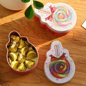 Elegant Metal Tinplate Empty Tins with Lids, Lollipop Shaped boxes for DIY Candles Dry Storage Spices Candy Party Favors