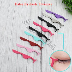 Beauty Tools Multifunctional stainless steel eyelash curler Eye lash Curlers False Eyelashes Curling Clip Tweezers Cosmetic Tool